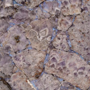 Amethyst Light Glitter Schmuckstein violette