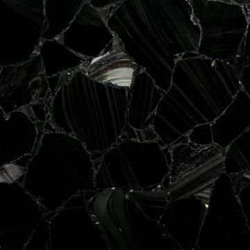 Black Obsidian Schmuckstein schwarz