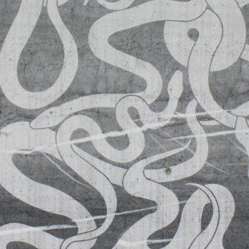 Blue De Savoie (Snake Design) Texturen blau