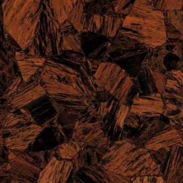 Brown Obsidian Schmuckstein braun