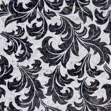 Farfalla Blue Maxi (Flora Design) Texturen Granit blau