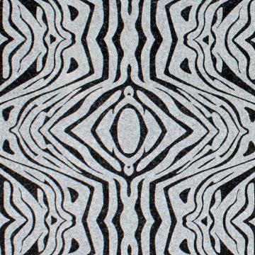 Impala Black (Zebra Design Minus) Texturen schwarz