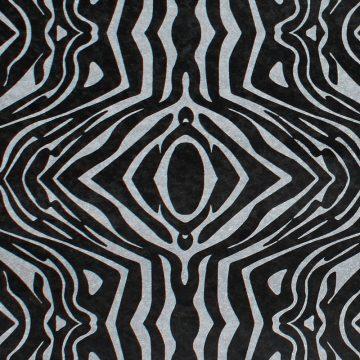 Impala Black (Zebra Design Positiva) Texturen schwarz
