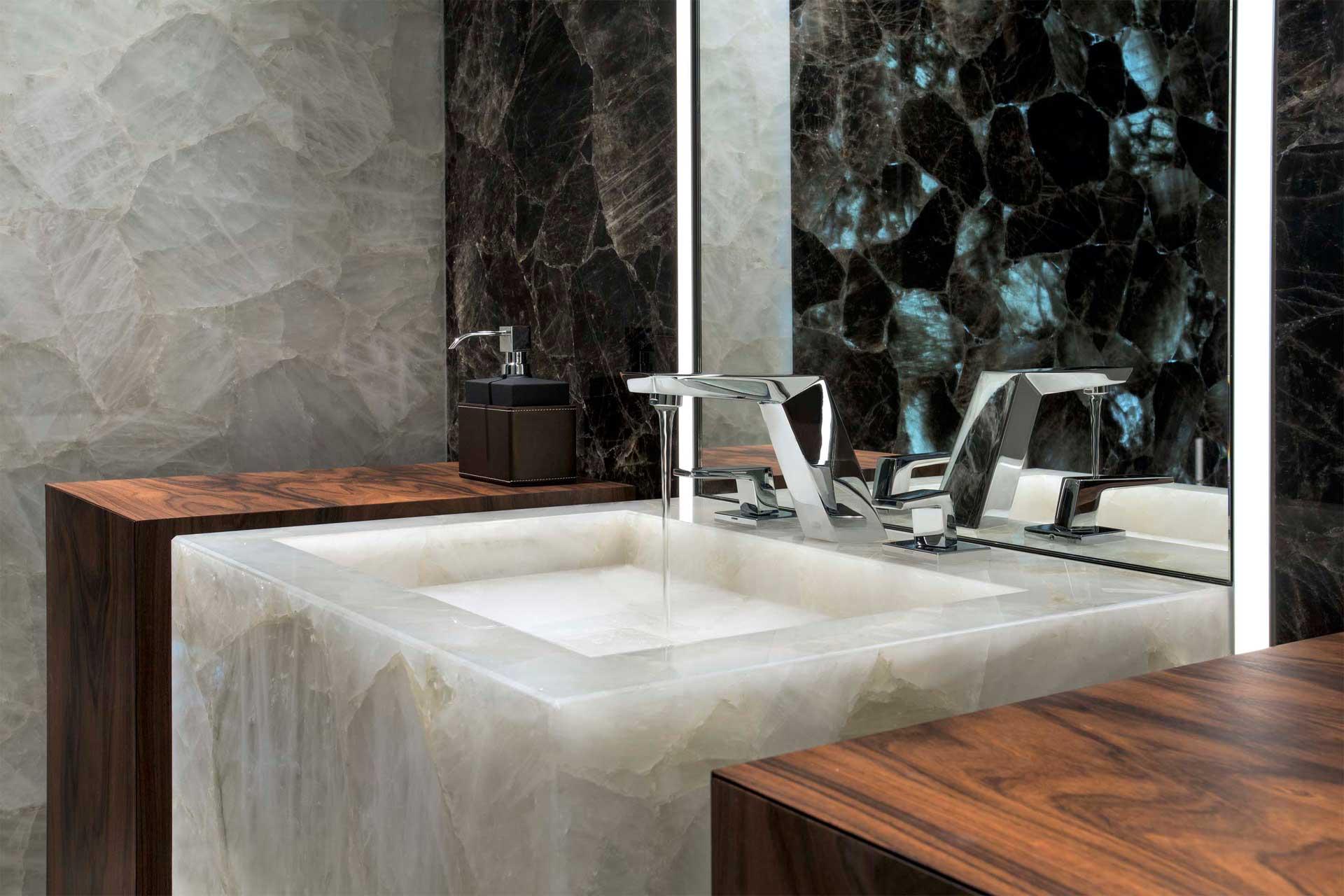 Naturstein Luxus Waschbecken