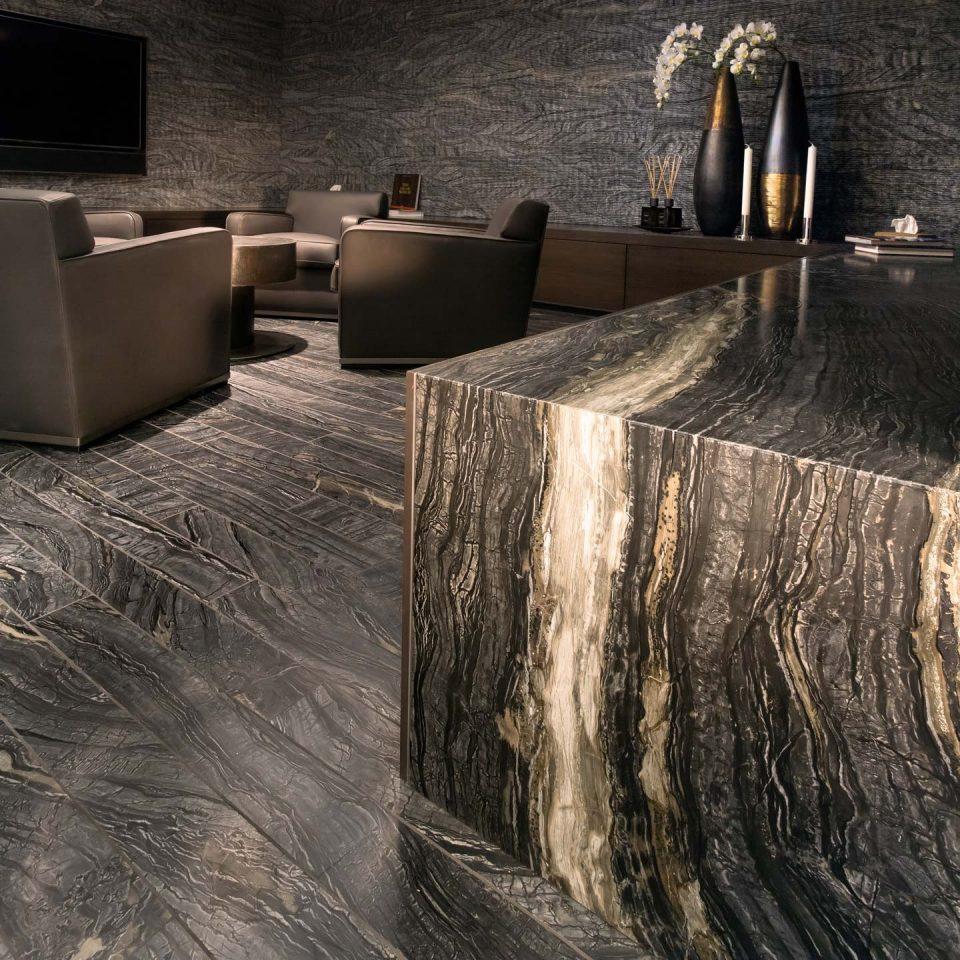 Luxuriöse Naturstein Lounge