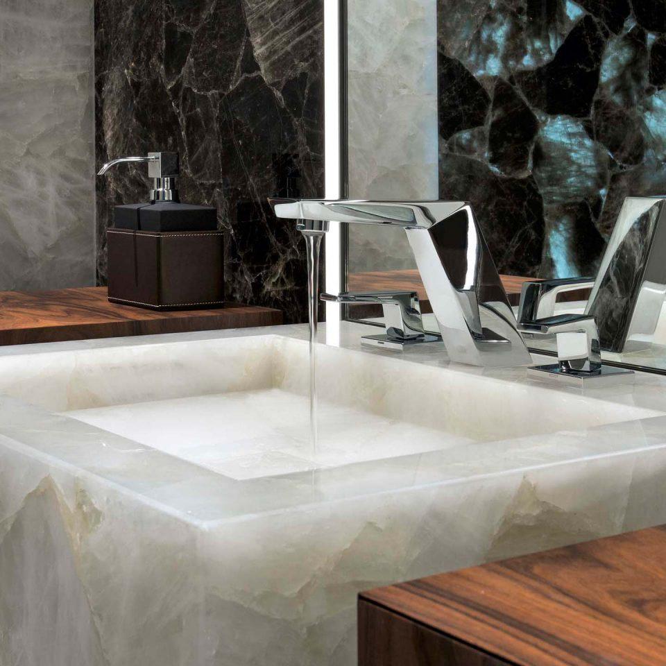 Naturstein Waschbecken Luxus