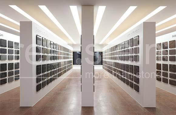 Real Stein Ausstellung Steinbibliothek