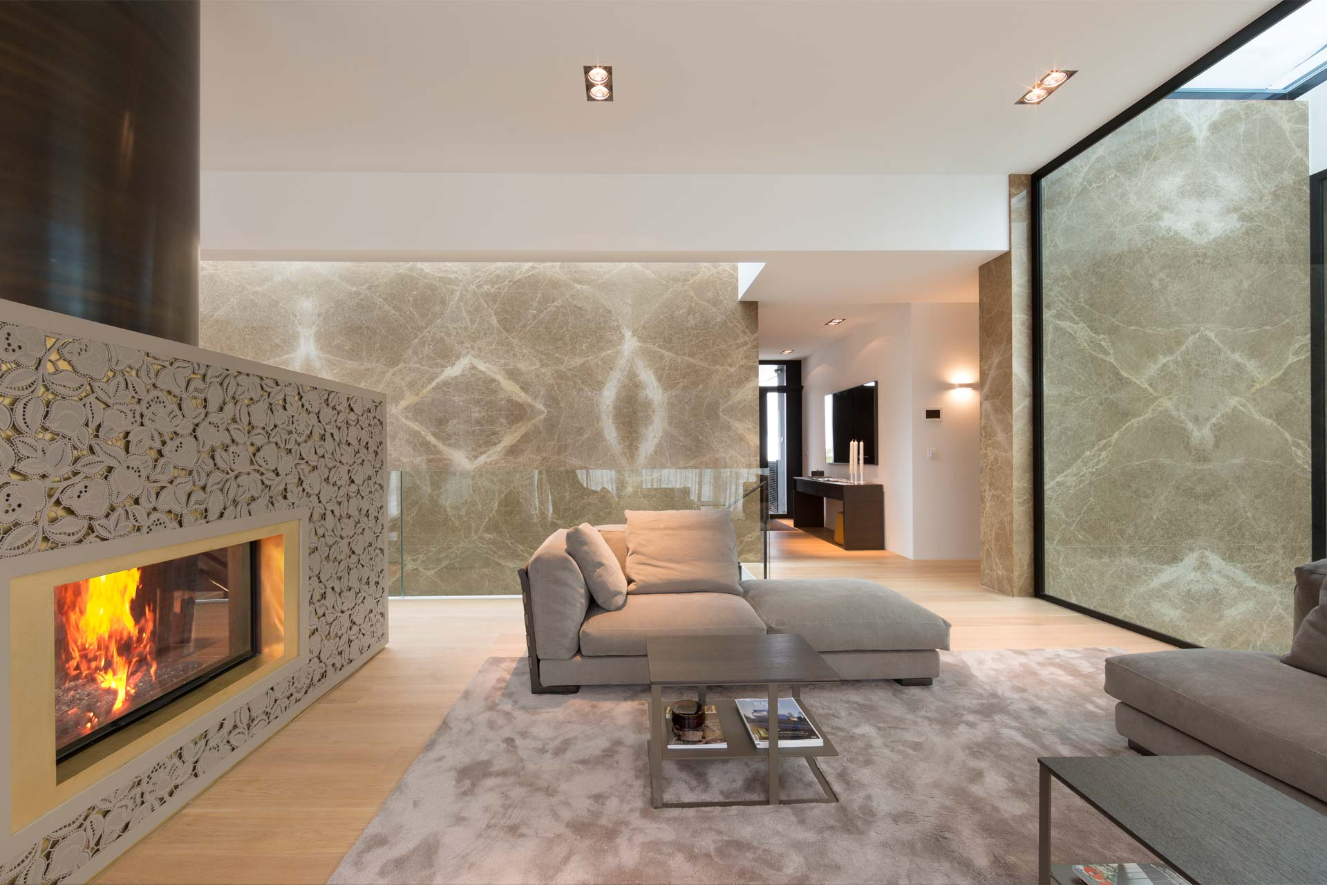 Marmor Wandverkleidung Steinplatten