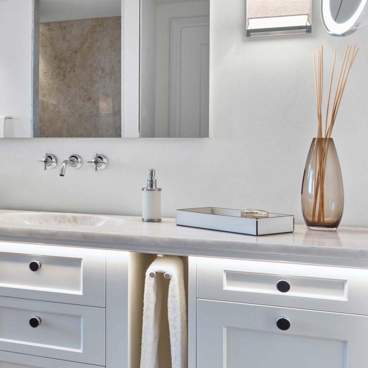 Naturstein Platte Badezimmer